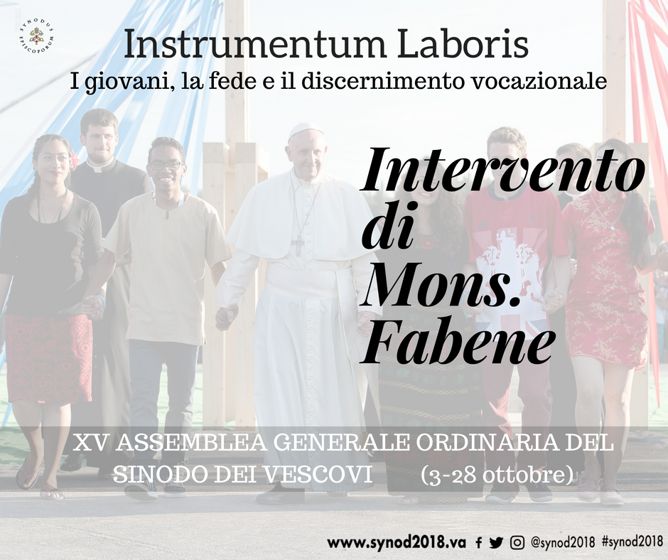 monsenor Fabene - Instrumentum Laboris